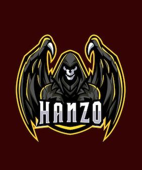 Logotipo do dark devil esports