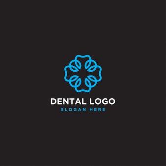 Logotipo do dente redondo