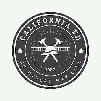 Logotipo do departamento de bombeiros