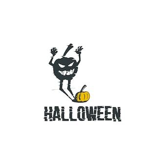 Logotipo do dia das bruxas