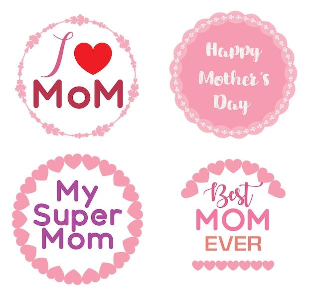 Logotipo do dia das mães