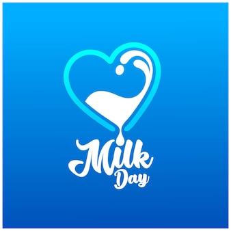 Logotipo do dia do leite