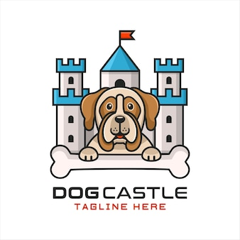 Logotipo do dog castle