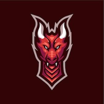 Logotipo do dragão inocente