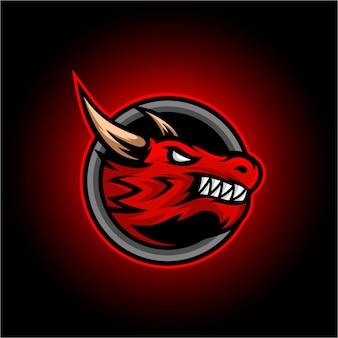 Logotipo do drago esport