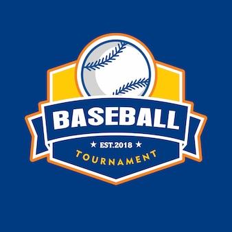 Logotipo do emblema de beisebol