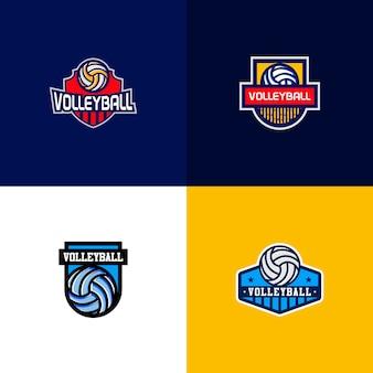 Logotipo do emblema de esportes