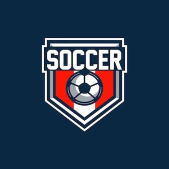 Logotipo do emblema de futebol
