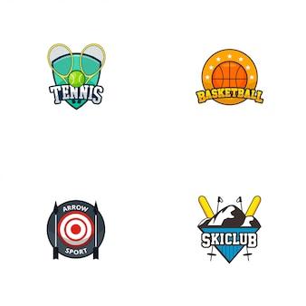 Logotipo do emblema do esporte