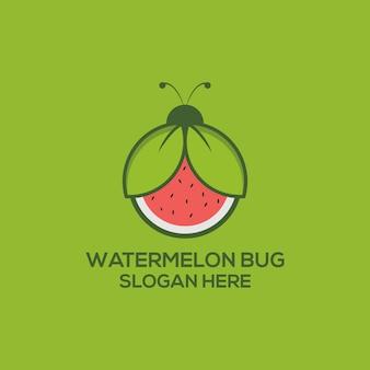 Logotipo do erro da melancia