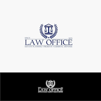Logotipo do escritório de lei