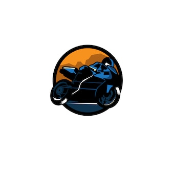 Logotipo do esporte a motor