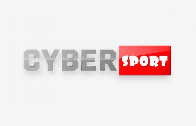 Logotipo do esporte cibernético
