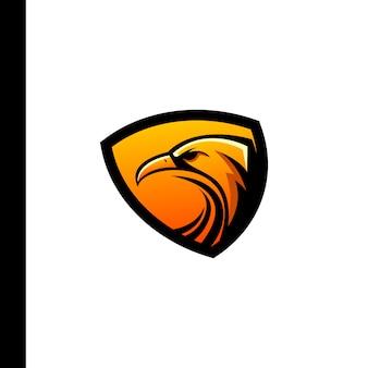 Logotipo do esporte da águia