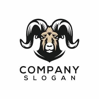 Logotipo do esporte da cabra