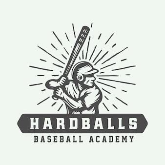 Logotipo do esporte de beisebol