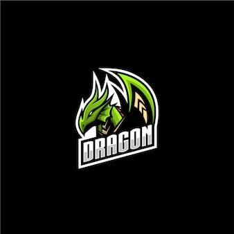 Logotipo do esporte dragão