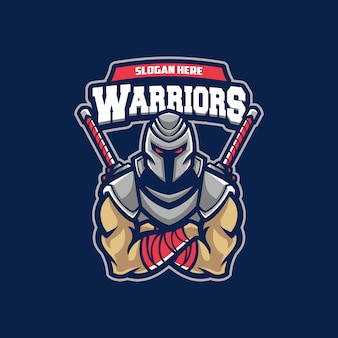 Logotipo do esporte guerreiro