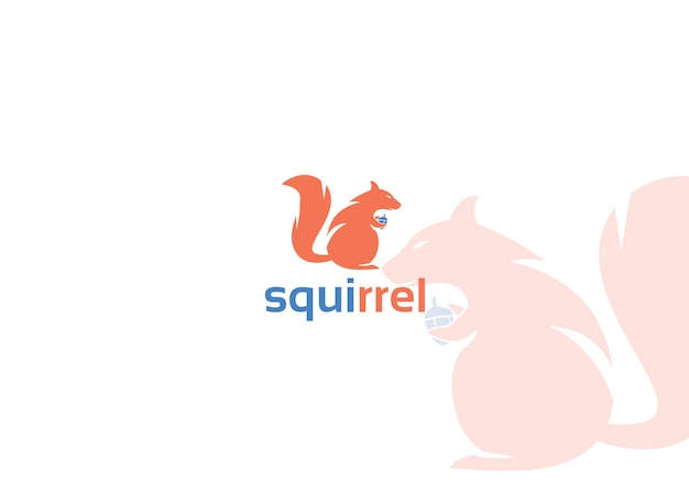 Logotipo do esquilo