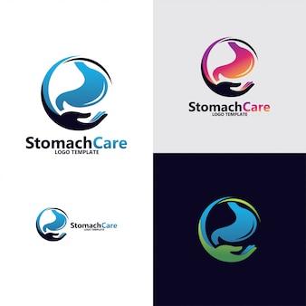 Logotipo do estômago