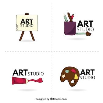 Logotipo do estúdio art