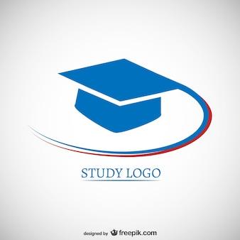 Logotipo do estudo com mortarboard