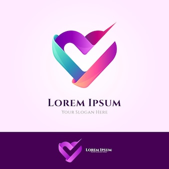 Logotipo do exame de saúde cardíaca