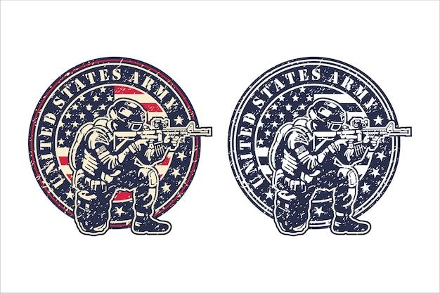 Logotipo do exército dos estados unidos