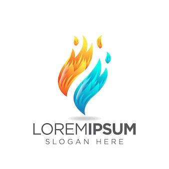 Logotipo do fogo f
