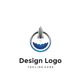 Logotipo do foguete