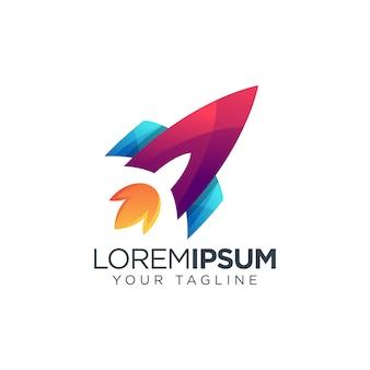 Logotipo do foguete