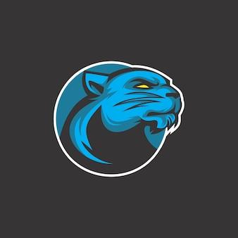 Logotipo do gato do trovão