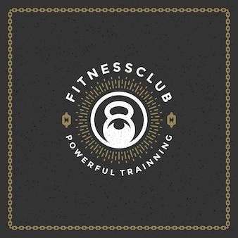 Logotipo do ginásio de fitness