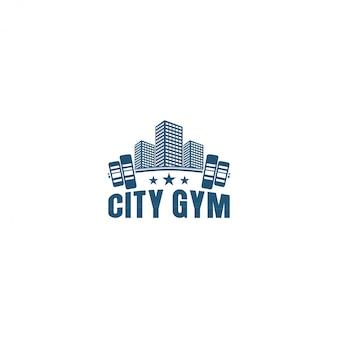 Logotipo do ginásio, ginásio da cidade