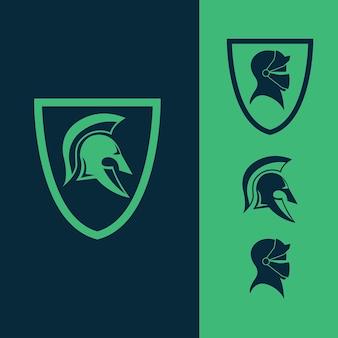Logotipo do gladiator crest
