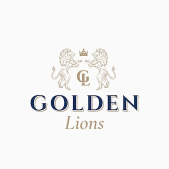 Logotipo do golden lions
