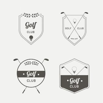 Logotipo do golfe