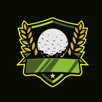 Logotipo do golfe