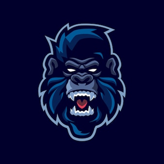 Logotipo do gorilla mascot