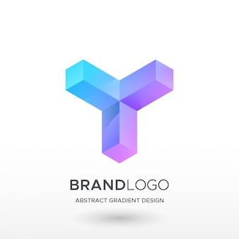 Logotipo do gradiente y