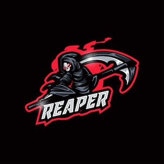 Logotipo do grim reaper esport
