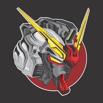 Logotipo do gundam