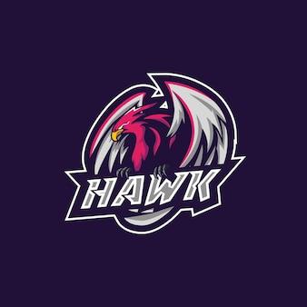 Logotipo do hawk esport