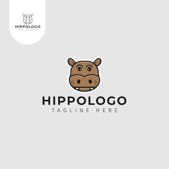 Logotipo do hipopótamo