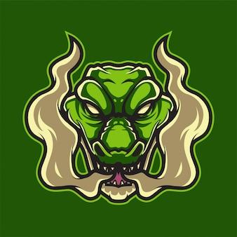Logotipo do jacaré