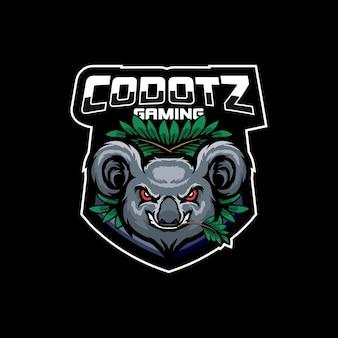 Logotipo do koala esport