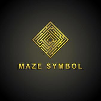 Logotipo do labirinto de ouro