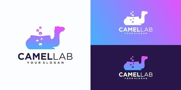 Logotipo do laboratório camel, logotipo de referência.
