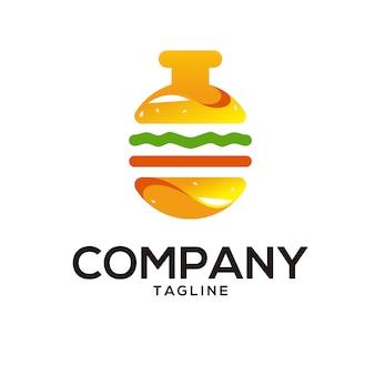 Logotipo do laboratório de hambúrguer