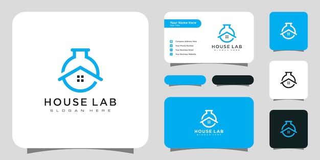 Logotipo do laboratório doméstico de laboratório doméstico